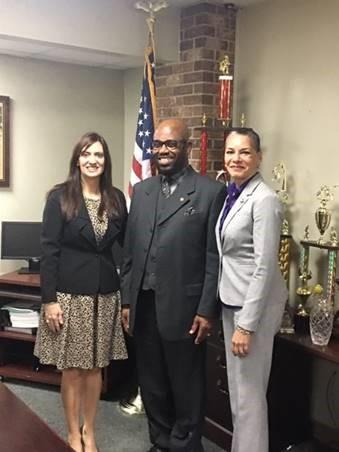 secretary marstiller with gsdsden sheriff and lieutenant governor of florida